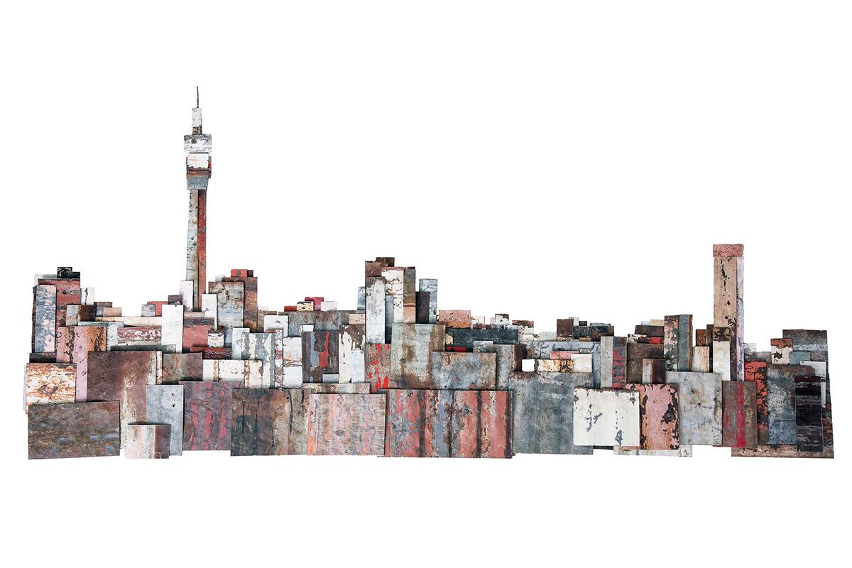 Johannesburg Skyline. 1/20.