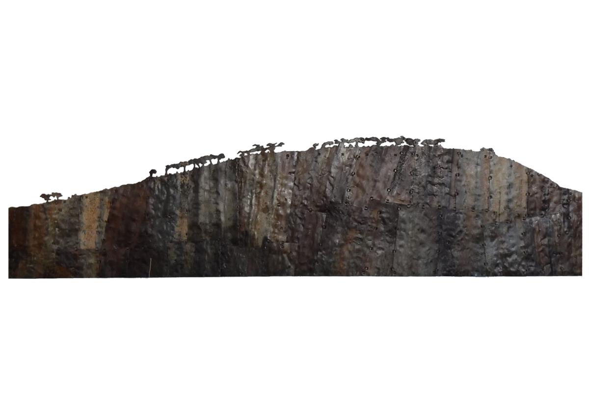 Signal Hill. 250 x 57cm.