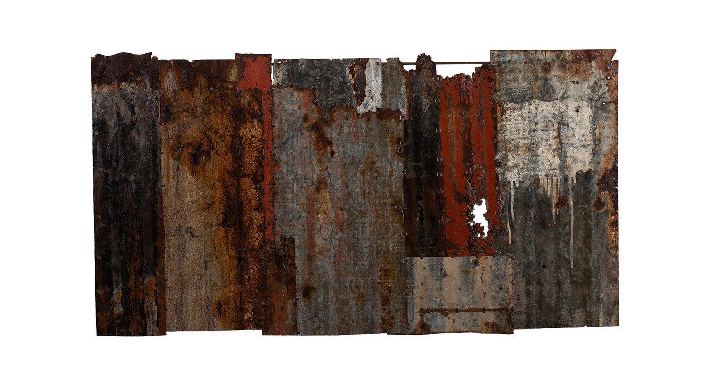 Bits & pieces. Study 1. 144cm x 77cm