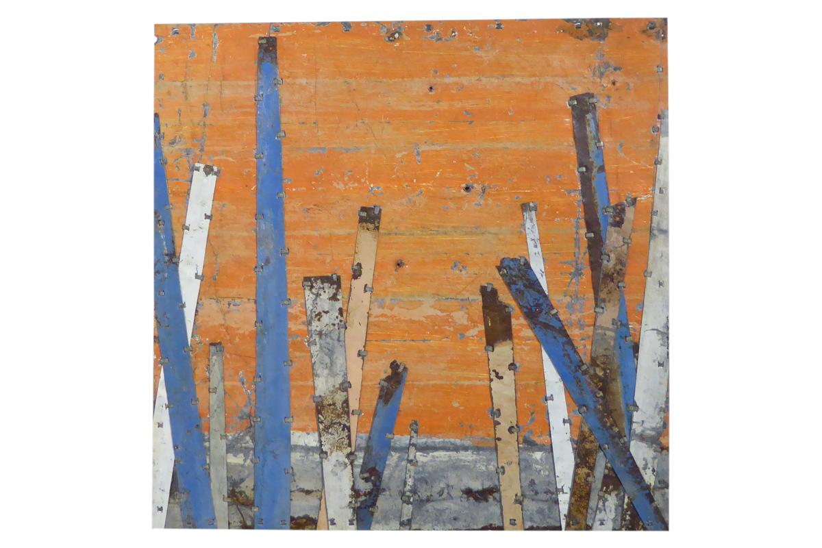 Stick study 5. 78 x 78cm