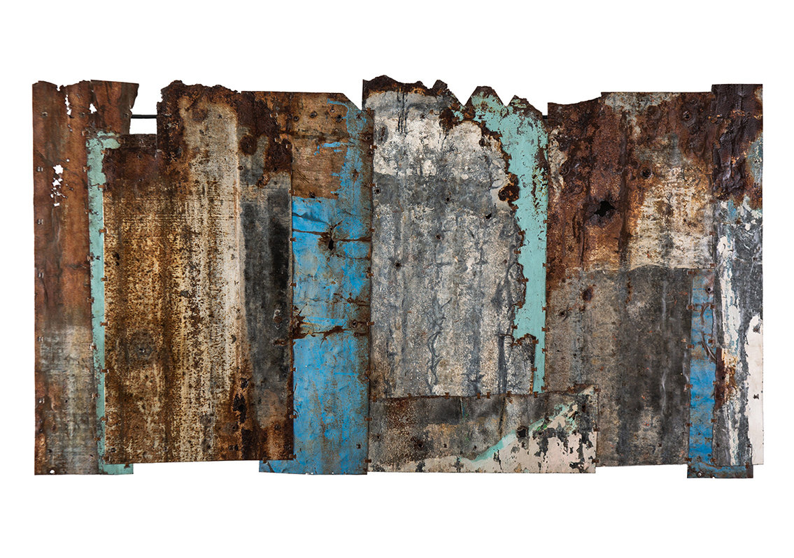 Bits & pieces. Study 5. 143cm x 80cm