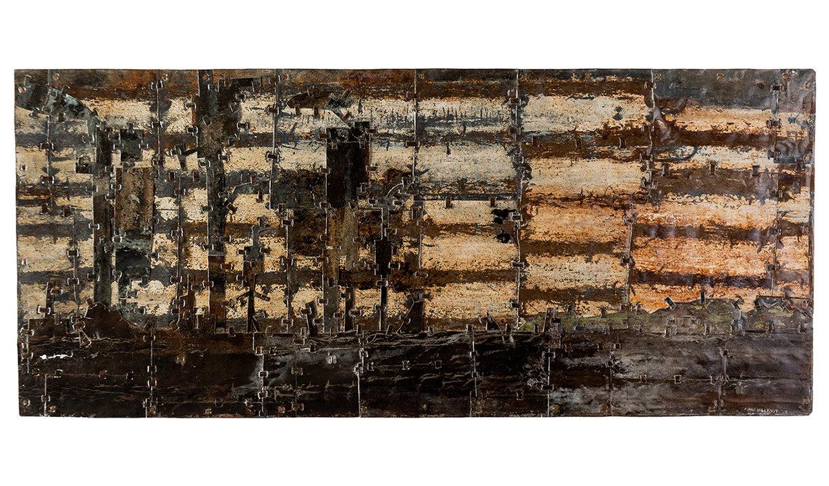 Electric Landscape. 140cm x 61cm