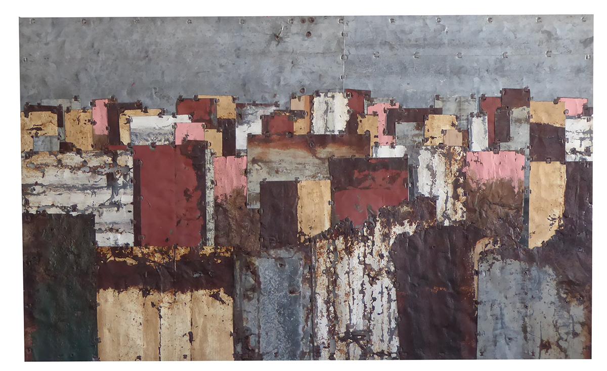 Fences Colour Study 4  130 x 78