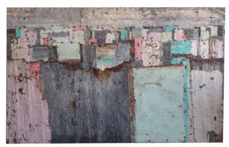 Fences. Colour Study 3 157 x 97