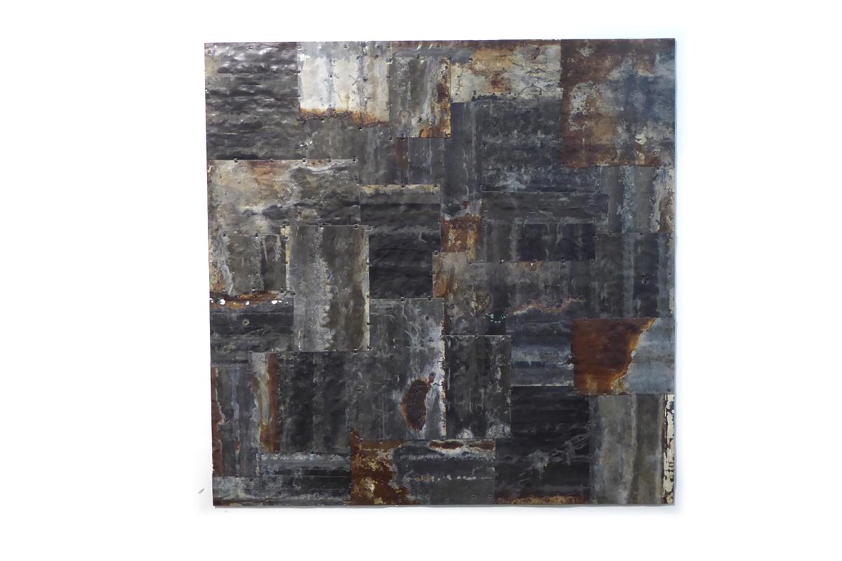 Black Square. 110 x 110 cm.