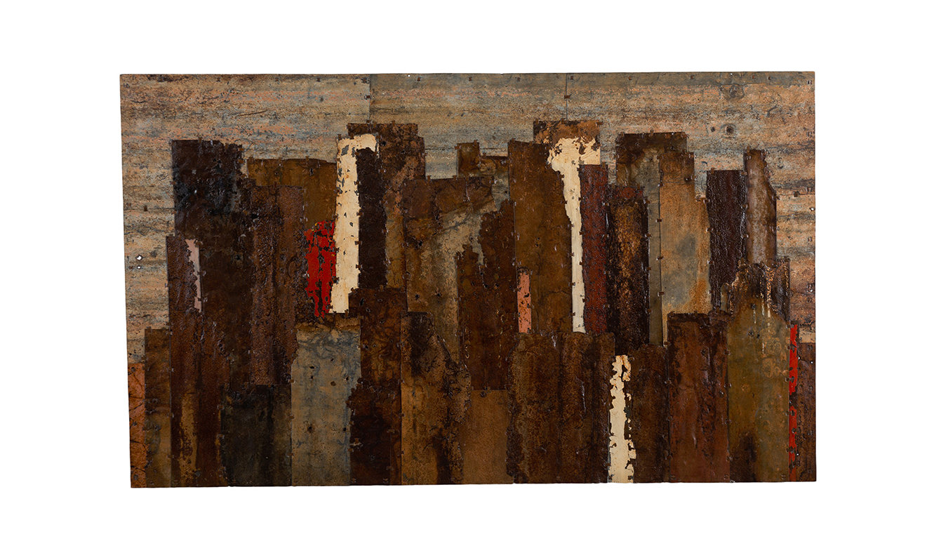 A Selection Of Browns. 157cm x 94cm