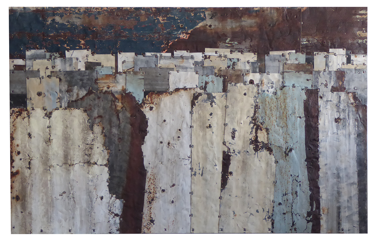 Fences. Colour Study 11 153 x 99