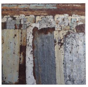 Fences. Colour Study 10  114 x 110