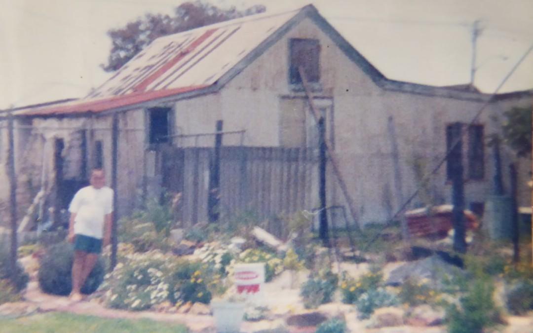 Corrugated Iron House
